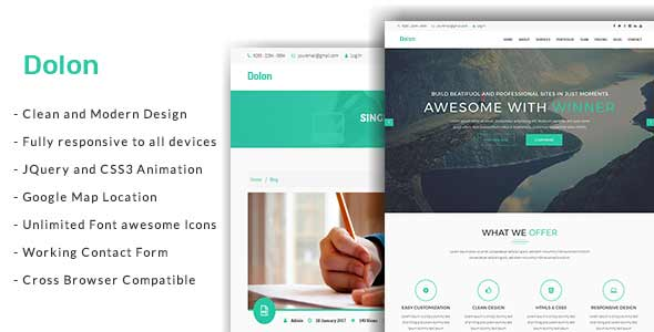Pakhi Onepage Creative Agency Responsive Template