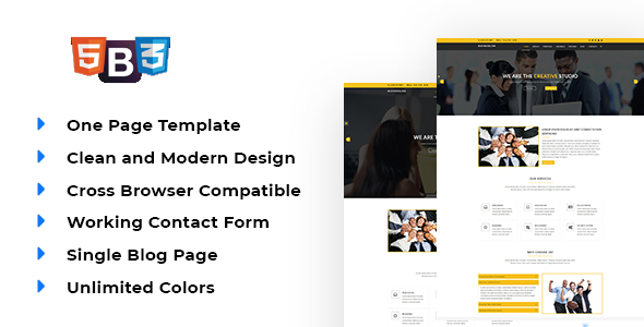 Fozyone - Material Design Business Template